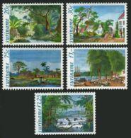 Suriname, 1981, Paintings, Art, MNH, Michel 957-961 - Surinam