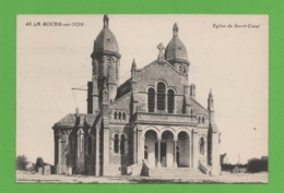 85 - La Roche Sur Yon - Eglise Du Sacré Coeur - La Roche Sur Yon