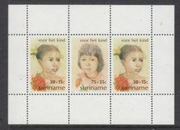 Suriname, 1981, Child Welfare, MNH, Michel Block 32 - Surinam