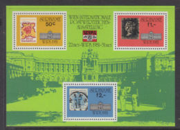 Suriname, 1981, WIPA Stamp Exhibition, MNH, Michel Block 30 - Surinam