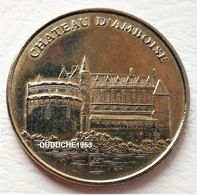 Monnaie De Paris 37.Amboise - Château Face Simple 2003 - Monnaie De Paris