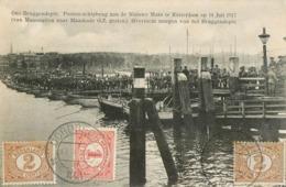 ROTTERDAM ONS BRUGGENDEPOT PONTON-SCHIPBRUG AAN DE NIEUWE MAAS MAASKADE MAASSTATION NEDERLAND - Rotterdam