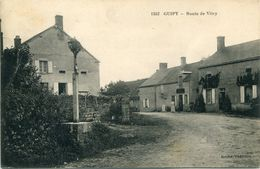 - 58 -NIEVRE-GUIPY - Route De Vitry - France
