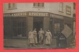 27 - Conches En Ouche - Carte Photo Boulangerie - Conches-en-Ouche