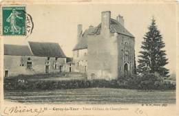 58 - Cercy La Tour - Vieux Château De Champlevois - CPA - Voir Scans Recto-Verso - France