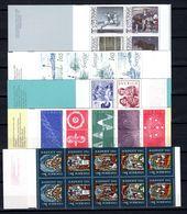 Zweden: 1982 - Verschillende Boekjes Postfris / Various Booklets MNH - Markenheftchen