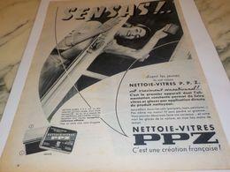 ANCIENNE PUBLICITE NETTOIE VITRE PPZ 1956 - Altri