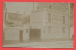 75 - Paris 18 - Carte Photo Marchand De Charbons 40 Rue Doudeauville - Arrondissement: 17