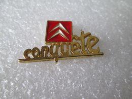 PIN'S   CITROEN  CONQUETE - Citroën