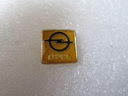 PIN'S   LOGO   OPEL       16mm - Opel