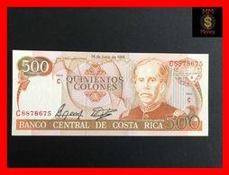 COSTA RICA 500 Colones 14.6.1989  P. 255  UNC - Costa Rica