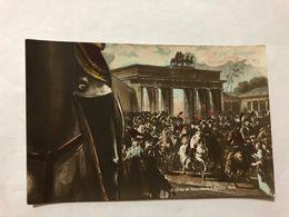 FRANCE - NAPOLEON - '' ENTREE DE NAPOLEON A BERLIN , 1806 ''  -  1905   -  POSTCARD - Photos