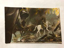 FRANCE - NAPOLEON - '' ENTREE DE NAPOLEON A MOSCOU ''  -  1905   -  POSTCARD - Photos