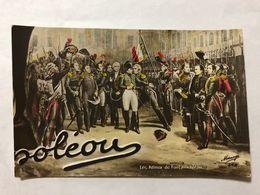 FRANCE - NAPOLEON - '' LES ADIEUX DE FONTAINEBLEAU ''  -  1905   -  POSTCARD - Photos
