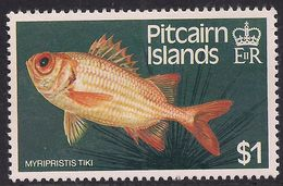 Pitcairn Islands 1984 QE2 $1 Myripristis Tiki Fish Umm SG 256 ( R1062 ) - Stamps