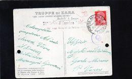 CG45 - Italia - Consegna Della Bandiera Alle Truppe Di Zara - Ann. Posta Militare 29/4/1940. - Guerre 1939-45