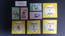 Sierra Leone 1964 Luchtpostzegels Opdruk - Sierra Leone (1961-...)