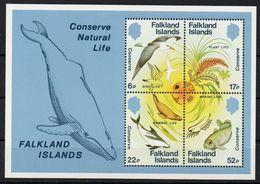 Falkland Islands - 1984 Conserve Natural Life Foglietto Nuovo - Falkland