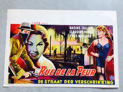 "Rue De La Peur ""Nadine Tallier,Claudine Dupuis,Yves Massard (hold- Up , Pin Up, Jartelle - Afiches & Pósters"