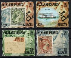 Falkland Islands - 1991 Centenary Of Bisected Surcharges Nuovo - Falkland