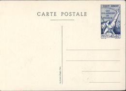 Entier CP Tour Droit Eclaireurs De France 40c + 60c Scout Scoutisme Neuve Storch S1 Imp Blondel La Rougery Paris - Postal Stamped Stationery