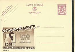 Publibel Neuve N° 433  ( Détective : O.B. I. ) - Entiers Postaux