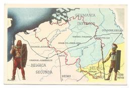 Chromo : Nos Gloires - Le Peuple Belge - Album 1 - Les Provinces Romaines - Série 3 N°15 (2 Scans) - Histoire