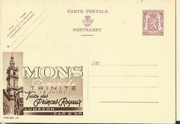 Publibel Neuve N° 419  ( MONS - Dimanche Trinité (4 Juin ) LUMEçON - CAR D'OR ) - Entiers Postaux