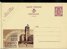 Publibel Neuve N° 372 ( BLANKENBERGE  -son Casino) - Entiers Postaux