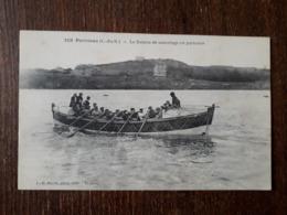 L28/348 Portrieux . Le Bateau De Sauvetage En Partance - Saint-Quay-Portrieux