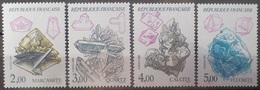 DF40266/1971 - 1986 - MINERAUX (SERIE COMPLETE) - N°2429 à 2432 NEUFS** - Francia
