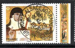 France 2020.Sainte Odile Cachet Rond Gomme D'Origine - Francia