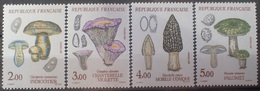 DF40266/1975 - 1987 - CHAMPIGNONS (SERIE COMPLETE) - N°2488 à 2491 NEUFS** - Francia
