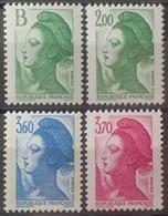 DF40266/1976 - 1987 - TYPE LIBERTE DE DELACROIX (SERIE COMPLETE) - N°2483 à 2486 NEUFS** - Francia