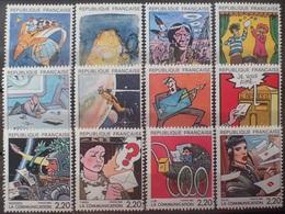 """DF40266/1978 - 1988 - """" LA COMMUNICATION """" (SERIE COMPLETE) - N°2503 à 2514 NEUFS** - Francia"""