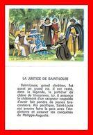 CHROMOS. Histoire. La Justice De SAINT-LOUIS...L164 - Artis Historia