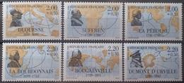 DF40266/1980 - 1988 - CELEBRITES (SERIE COMPLETE) - N°2517 à 2522 NEUFS** - Francia