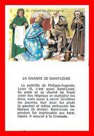 CHROMOS. Histoire. La Charité De SAINT-LOUIS...L165 - Artis Historia