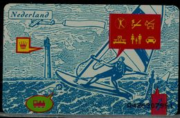 NETHERLANDS 1995 PHONECARD WATER SPORT USED VF!! - Sport