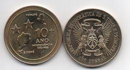 S Tome E Principe - 100 Dobras 1985 Comm. AUNC Lemberg-Zp - Sao Tome And Principe
