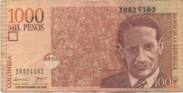 Colombie : 1000 Pesos 2006 (mauvais état) - Colombia