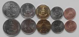 Vanuatu - Set 5 Coins 5 10 20 50 100 Vatu 2015 UNC Lemberg-Zp - Vanuatu