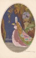 Corbella Artist Image, Beautiful Woman Fashion Deco Theme C1910s/20s Vintage DeGami #1110 Postcard - Corbella, T.