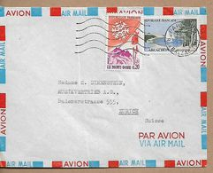 FRANCE COVER Sent To Zurich 2 Stamps COVER USED - Francia