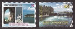 Macedonia 2020 Tourism Lakes Prespa Struga Pelcan Birds, Set MNH - Macédoine