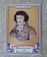 CP Bicentenaire De La Révolution Française Portrait De Saint Just Né à Decize En 1767 Ed Equinoxe - Histoire