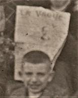 CARTE PHOTO ANARCHISME 1918 à LYON  LE NID ROUGE  CERCLE ARTISTIQUE PROLETARIEN - Partis Politiques & élections