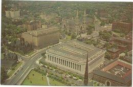 XW 3187 Pittsburgh - Civic Center - Mellon Institute - Aerial View / Non Viaggiata - Pittsburgh