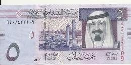 ARABIE SAOUDITE 5 RIYALS 2012 UNC P 32 C - Saudi-Arabien
