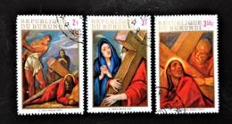 Burundi, Stamps Cancelled CFO, « Easter », 1970 - 1970-79: Gebraucht